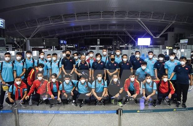 Mondial 2022 : de retour au pays, l'equipe nationale reprend l'entrainement hinh anh 1