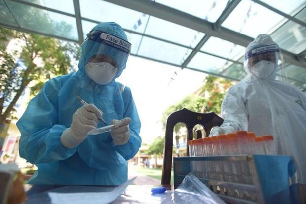Covid-19 : Hanoi enregistre 38 nouveaux cas selon le bilan actualise a midi hinh anh 1