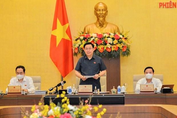 Le Comite permanent de l'Assemblee nationale ouvre sa 3e reunion a Hanoi hinh anh 1