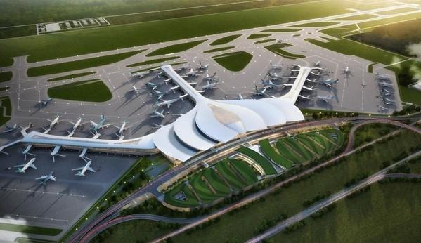 Acceleration des travaux du projet de l'aeroport international de Long Thanh hinh anh 1