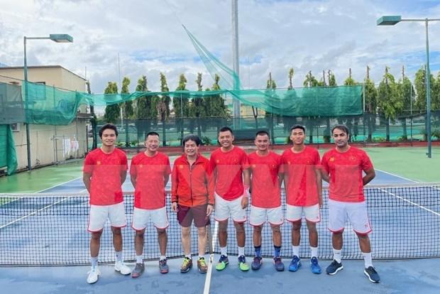 Coupe Davis 2022: le Vietnam se qualifie pour les play-offs du Groupe mondial II hinh anh 1