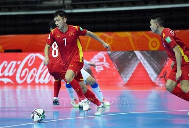 Coupe du monde de Futsal 2021 : le Vietnam gagne un ticket pour la seconde phase hinh anh 1