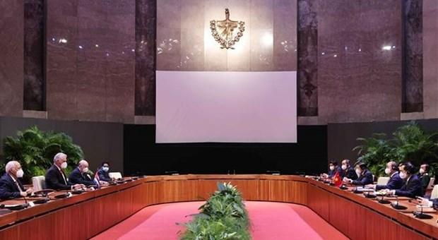 Le Vietnam et Cuba promeuvent leur cooperation integrale hinh anh 1