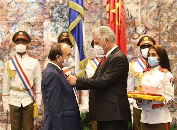 Le Vietnam et Cuba promeuvent leur cooperation integrale hinh anh 2