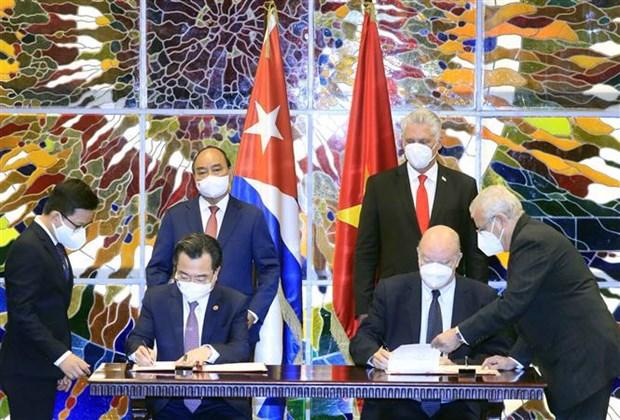Le Vietnam et Cuba promeuvent leur cooperation integrale hinh anh 3