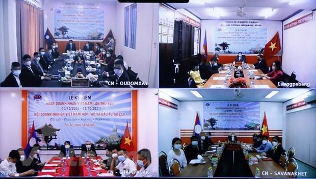 La Journee des entrepreneurs vietnamiens celebree au Laos hinh anh 2