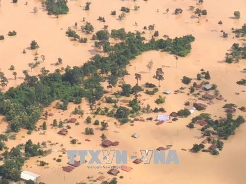 Le Laos decaissera pres de 59 M$ pour reparer les degats des inondations hinh anh 1