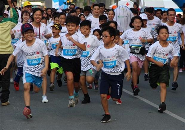 Plus de 9.000 coureurs au marathon de Ho Chi Minh-Ville 2019  hinh anh 1