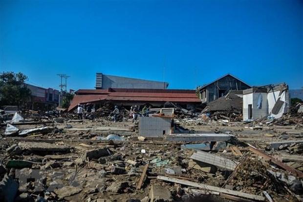 Un seisme puissant frappe le centre de l'Indonesie hinh anh 1
