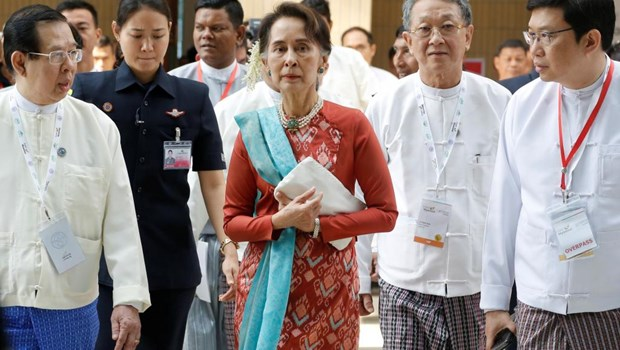 Myanmar: Aung San Suu Kyi lance un appel aux investisseurs hinh anh 1