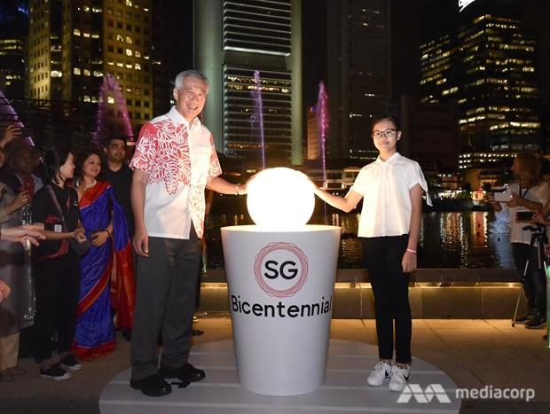 Singapour lance la celebration de son bicentenaire hinh anh 1