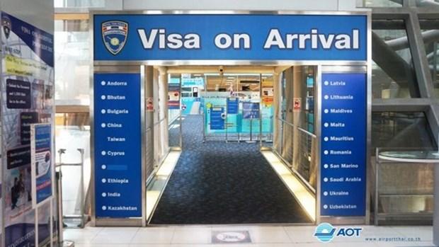 La Thailande va lancer un nouveau service de visa electronique a l'arrivee hinh anh 1