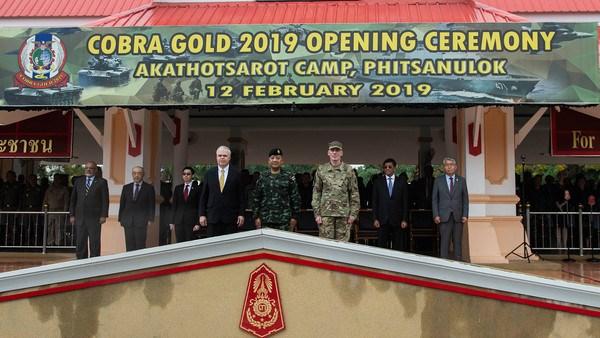 La Thailande et les Etats-Unis lancent l'exercice militaire Cobra Gold hinh anh 1
