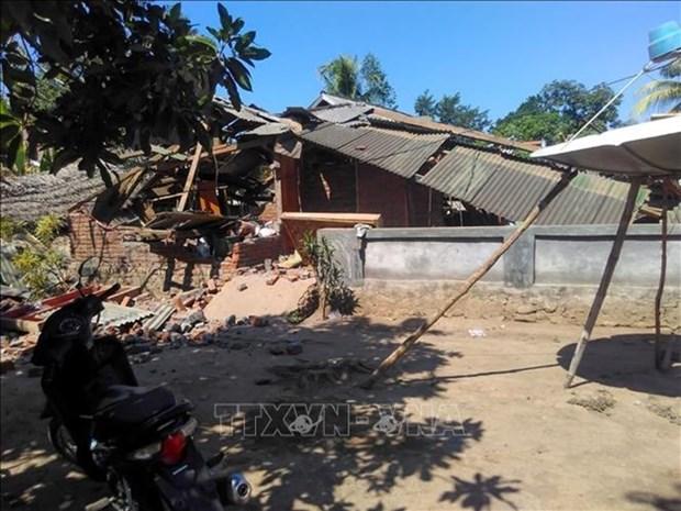Un fort seisme secoue l'est de l'Indonesie hinh anh 1