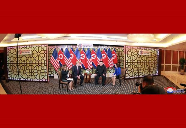 KCNA: les dirigeants nord-coreen et americain echangent des opinions sinceres et profondes hinh anh 2