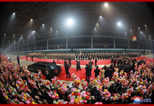 Kim Jong-un de retour a Pyongyang apres son deplacement au Vietnam hinh anh 1