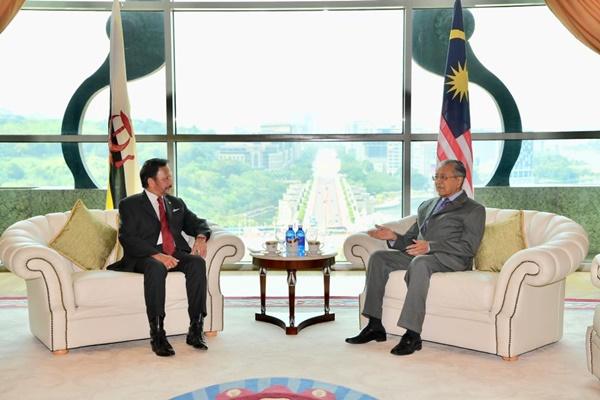 La Malaisie et le Brunei renforcent leur cooperation bilaterale hinh anh 1