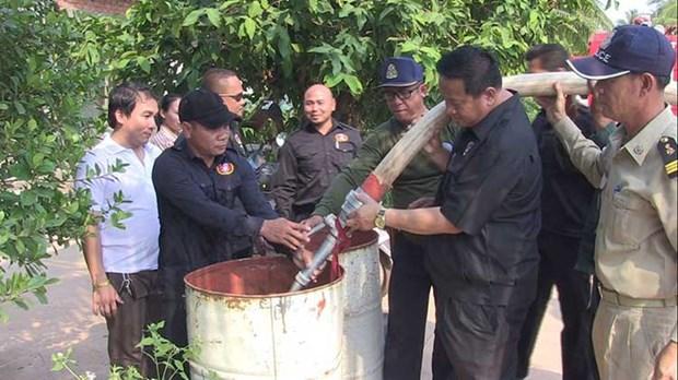 Secheresse: le Cambodge demande l'aide de la Thailande hinh anh 1