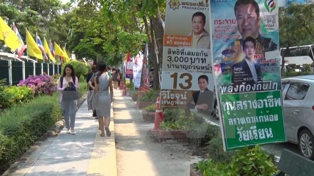 Thailande : les partis prets pour le dernier tour hinh anh 1