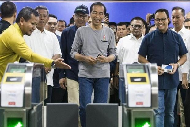 L'Indonesie inaugure son 1er reseau de transport en commun rapide hinh anh 1