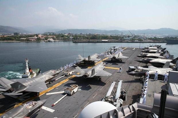 Les Philippines et les Etats-Unis lancent leur exercice militaire conjoint hinh anh 1