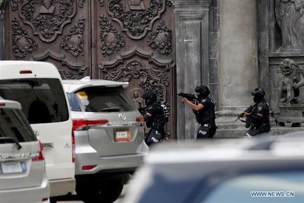 Les Philippines renforcent la securite apres les attentats au sud hinh anh 1