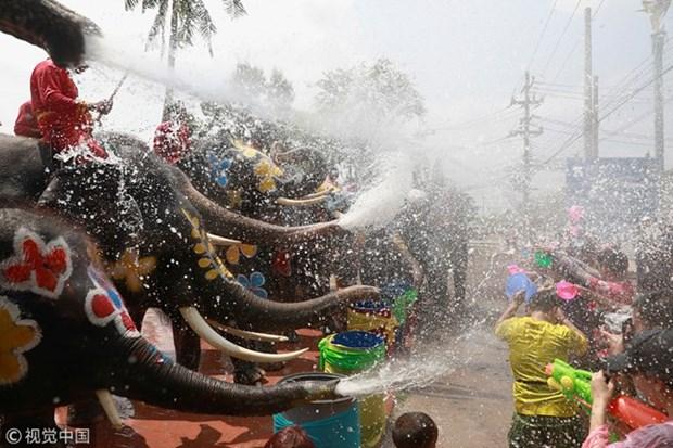 La Thailande commence les celebrations pour Songkran hinh anh 1