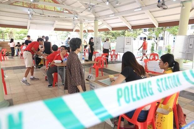 Singapour: pres de 2,6 millions d'electeurs aux prochaines elections generales hinh anh 1
