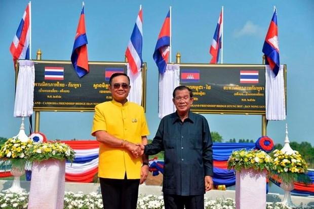 Rouverture d'une ligne ferroviaire reliant la Thailande et le Cambodge hinh anh 1