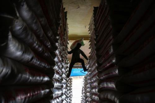 Bond des exportations de riz cambodgien vers la Chine hinh anh 1