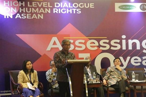 L'ASEAN renforce la cooperation dans le domaine des droits de l'homme hinh anh 1
