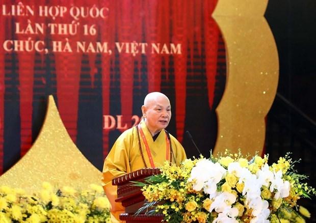 Lancement de la fete bouddhique du Vesak 2019 hinh anh 2