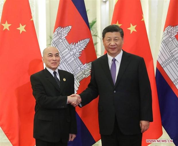 La Chine et le Cambodge renforcent la cooperation hinh anh 1