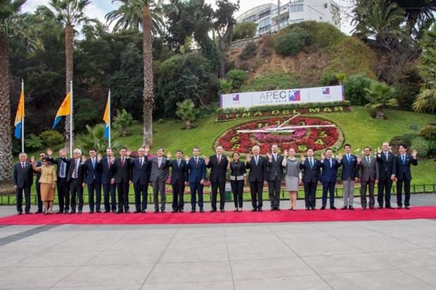 L'APEC s'engage a soutenir le libre-commerce hinh anh 1