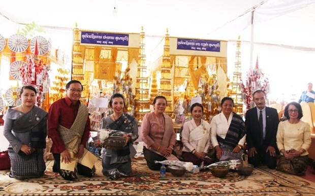 Le Vietnam au 110e anniversaire du feu president laotien Suphanouvong hinh anh 1