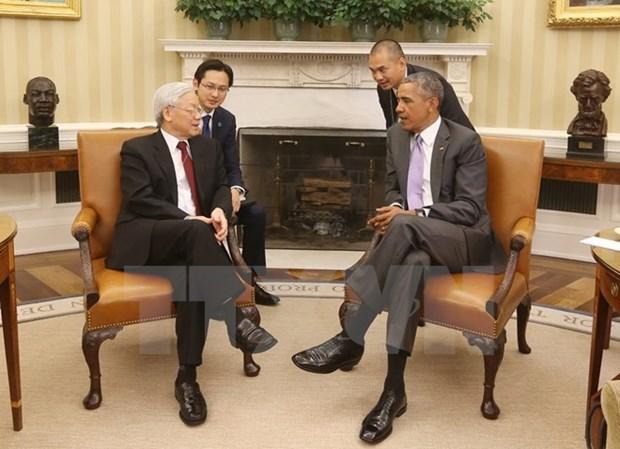 L'ambassadeur des Etats-Unis parle des relations avec le Vietnam hinh anh 1