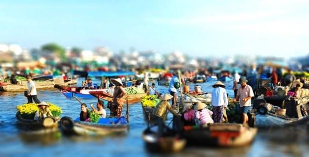 Can Tho dans la liste des dix plus belles villes a canaux du monde hinh anh 1