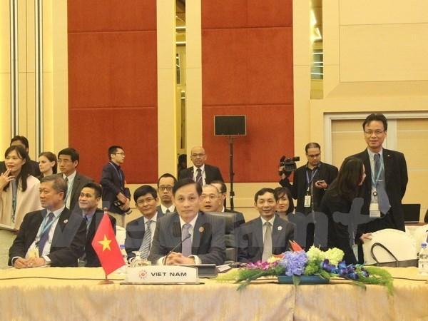 Succes des SOM ASEAN et conferences avec les pays partenaires hinh anh 1