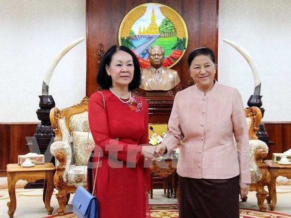 Vietnam-Laos: renforcement des relations entre les deux assemblees nationales hinh anh 1