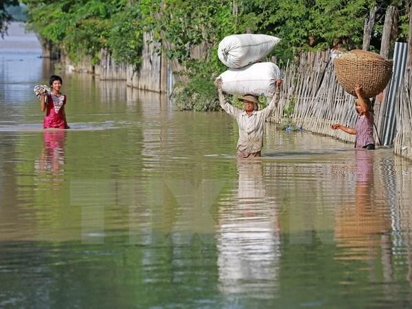 La BIDV assiste les sinistres des inondations au Myanmar hinh anh 1