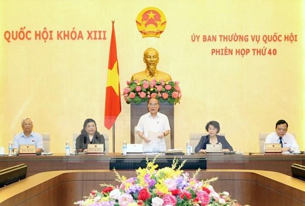 Ouverture de la 40e reunion du Comite permanent de l'AN de la 13e legislature hinh anh 1