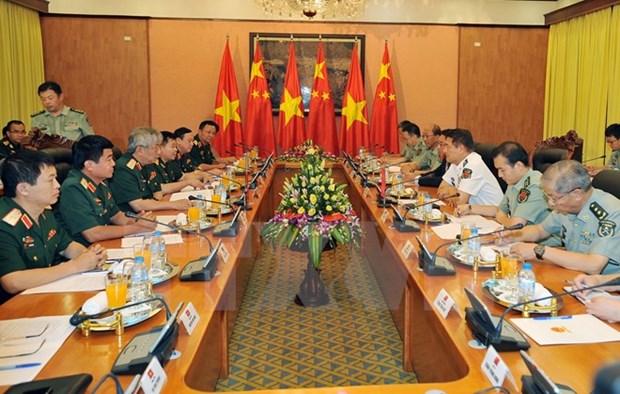 5eme Dialogue sur la strategie de defense Vietnam-Chine a Hanoi hinh anh 1
