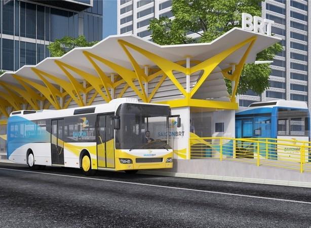 Developpement d'une ligne de bus express a Ho Chi Minh-Ville hinh anh 1