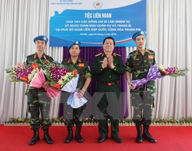 Maintien de la paix : l'ONU assiste toujours le Vietnam hinh anh 1