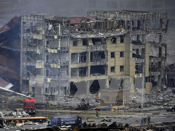Explosion a Tianjin: Message de condoleances du vice-PM Pham Binh Minh hinh anh 1