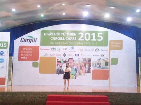 Cargill Vietnam construira deux ecoles supplementaires en 2015 hinh anh 1