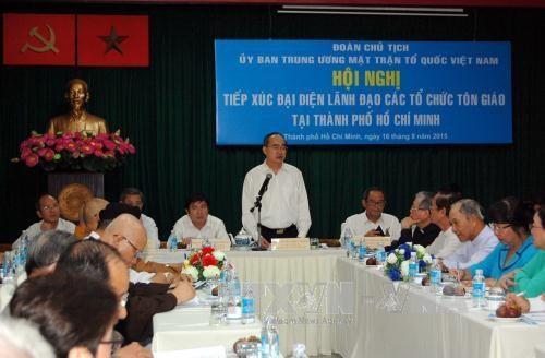 Conference entre le FPV et des religieux de HCM-Ville hinh anh 1