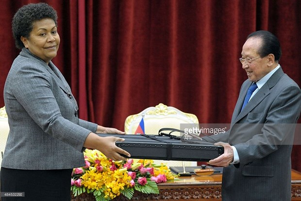 """Les cartes du Cambodge """"identiques"""" a celles empruntees a l'ONU hinh anh 1"""