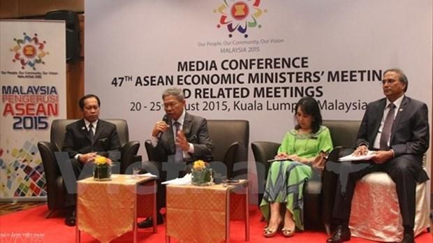 ASEAN: ouverture de la reunion des ministres de l'Economie a Kuala Lumpur hinh anh 1
