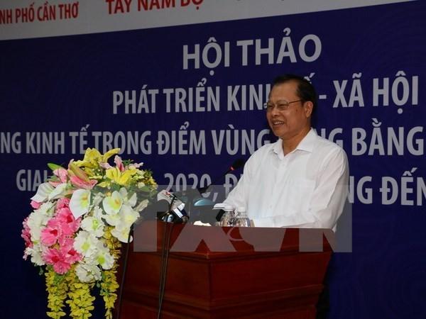 Colloque sur le developpement socio-economique du Delta du Mekong hinh anh 1